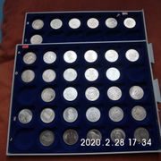 34 Stück 5 DM Gedenkmünzen