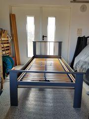 Bett aus Metall 90 x