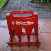 Zoller Bierflaschenträger Werbung Brauerei Zoller
