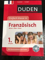 Duden Übungsbuch Französisch 1 Lernjahr