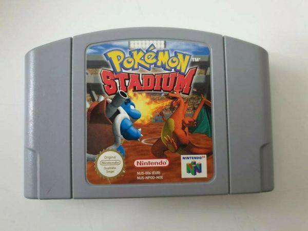 Nintendo 64 N64 Pokemon Stadium