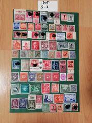 Lot S-01 Alt Briefmarken Deutsch