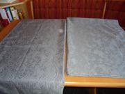 2 Stück Übergardinen blickdicht grau
