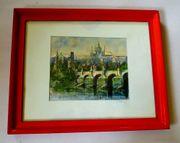 Prag tolles altes Gemälde Prag