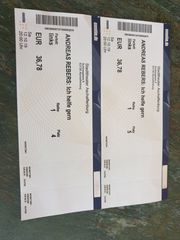 Andreas Rebers 2 Tickets