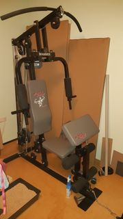 Fitnessgerät Kraftmaschine Hantelbank Bodybuilding