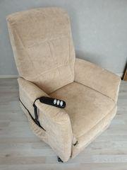TV-Relax-Sessel mit Motor und Aufstehhilfe