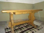 Eichentisch Klostertisch mit 4 Stühlen