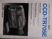 Sony CCD TR 705E Handbuch