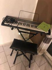 Casio Keyboard lk-125 Komplettset