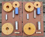 2 Stück Frequenzweichen 3-Weg Weichen