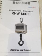 elektronische Hängewaage