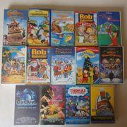 Kinder- Disneyfilme VHS Flintstones Muppets