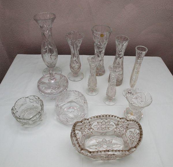 Vasen echt Kristall