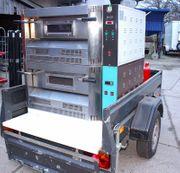 Mobile Gasback Pizzaöfen Cuppone G4