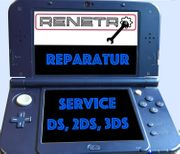 Reparatur Service - Nintendo Handhelds DSi