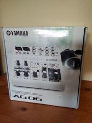 Yamaha AG06 USB Audio Mixer
