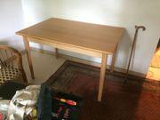 Esszimmertisch ausziehbar mit 4 Stühlen