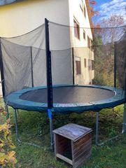Gartentrampolin groß 366cm