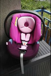 Cybex Aton purple Babyschale