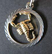 Sternzeichenanhänger - Scorpion