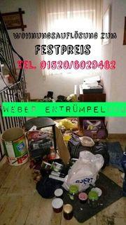 Sorgenfrei-umweltbewusst und Sozial Entrümpeln Wohnungsauflösung