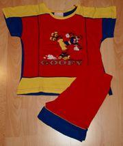 Leichter Sommer-Schlafanzug - Größe 104 - Kurzarm -