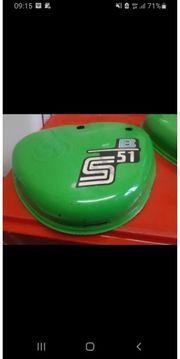 Simson Seitendeckel Orginal Lack Grün