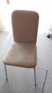 4 x Stühle unbenutzt alcantara