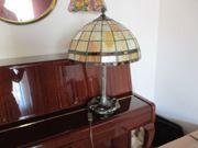 Tiffany-Lampe zwei Tiffany-Lampen-Schirme 1 ovaler