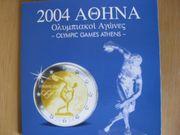 Euromünzen Komplettsatz 2004 Olympic Games