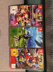 Nintendo Switch spiele set