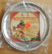 4 Melitta Pizza-Backformen - Alu - ca