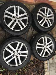 4 ALU Winterräder für VW