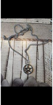 pentagramm Kette Halskette