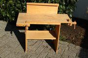 Werkbank für Kinder aus Holz
