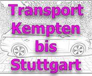 Günstiger Transport von Sachen ab