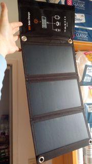 Solar Panel für unterwegs