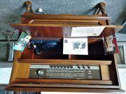 Musiktruhe mit Grundig Konzertgerät 8034