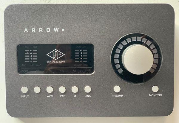Universal Audio Arrow (ThunderBolt 3 Audio Interface)