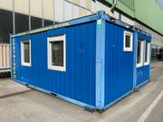 Doppelcontainer Baustellencontainer Bürocontainer Gartencontainer