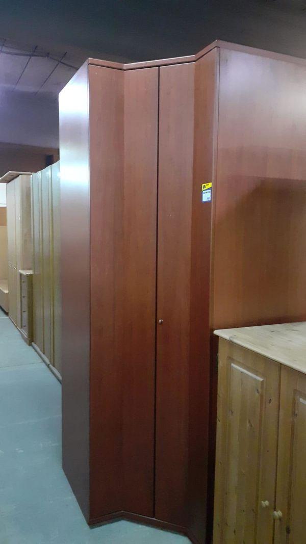 Kleiderschrank Eckschrank 60x40x240 gepflegt - HH22056