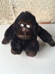 Stofftier Gorilla mit Klett