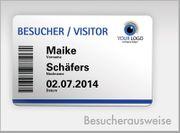Kartendruckdienst - Plastikkarten Mitgliedsausweise Mitarbeiter