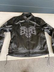 Motorrad Lederjacke XL