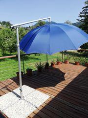 Ampelschirm Sonnenschirm inkl Schirmständer