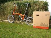 Brompton Titan Orange Faltrad