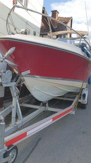 Kajütboot Motorboot Schlupfkabine ca 6m