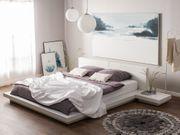 Wasserbett weiß matt 180 x
