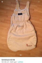 Baby Schlafsack Größe 50 56